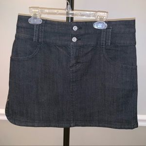 Lole Jean Mini Skirt size 6